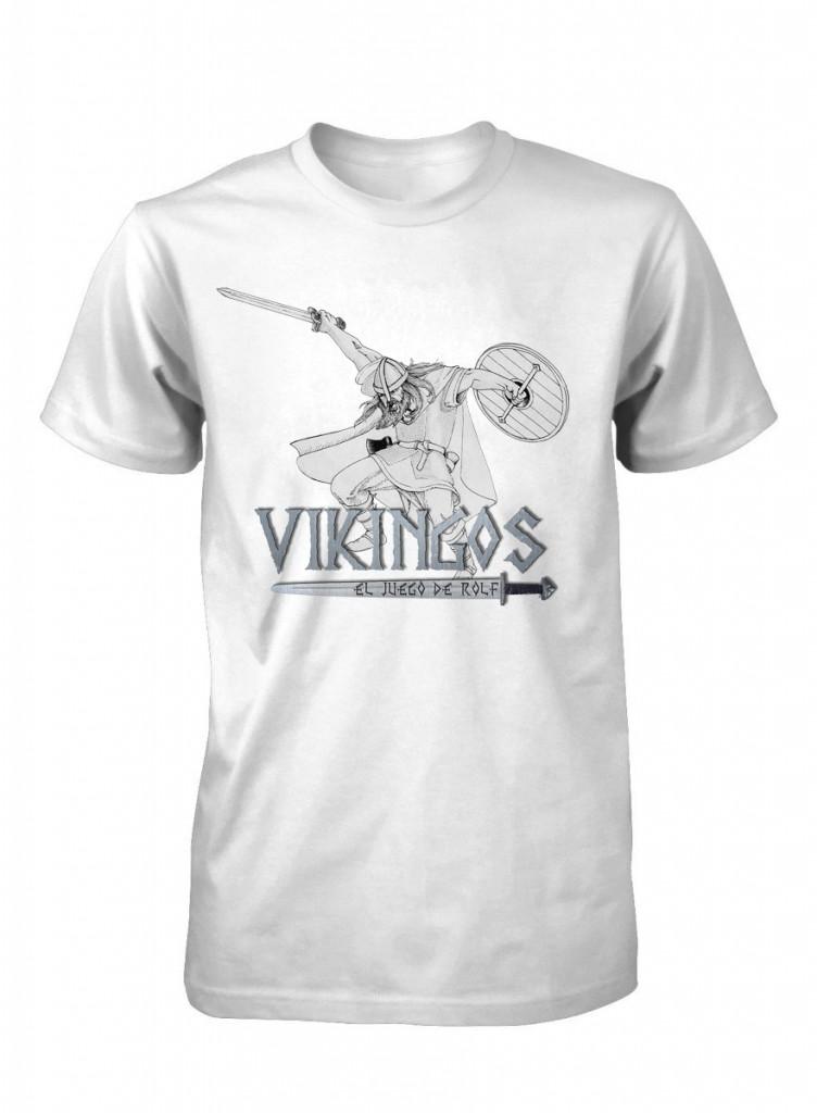 Camiseta del guerrero para juego de rol Vikingos el juego de rolf
