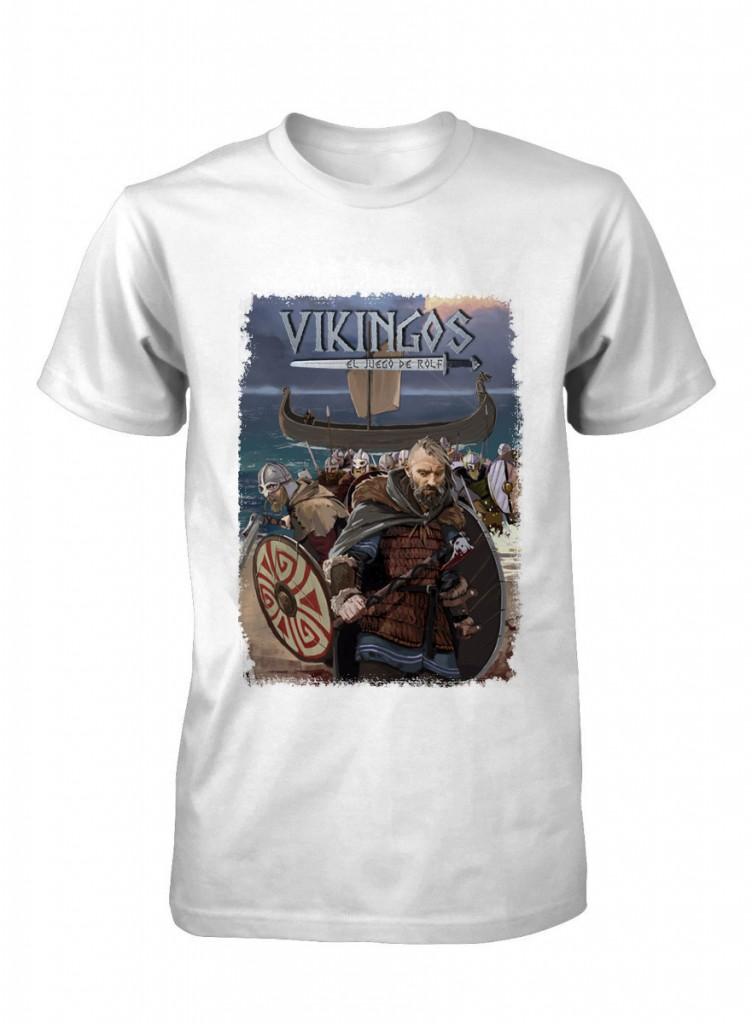 Camiseta de Vikingos el juego de rol