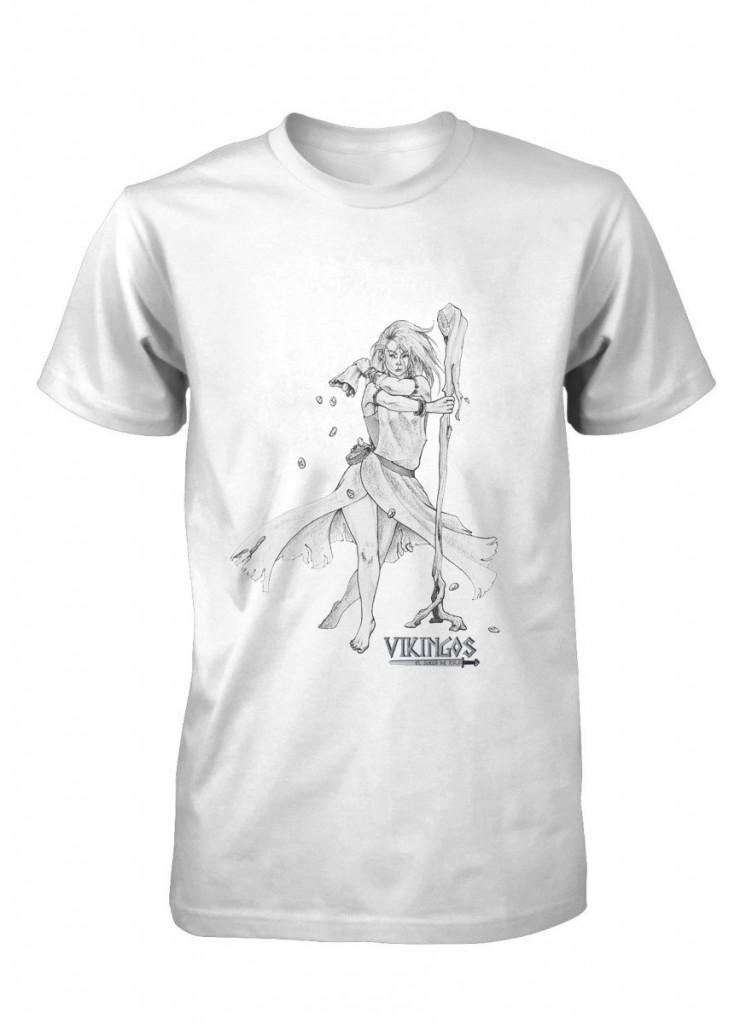 Camiseta del juego de rol Vikingos el juego de rolf